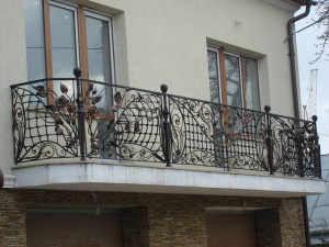 ковані балкони фото
