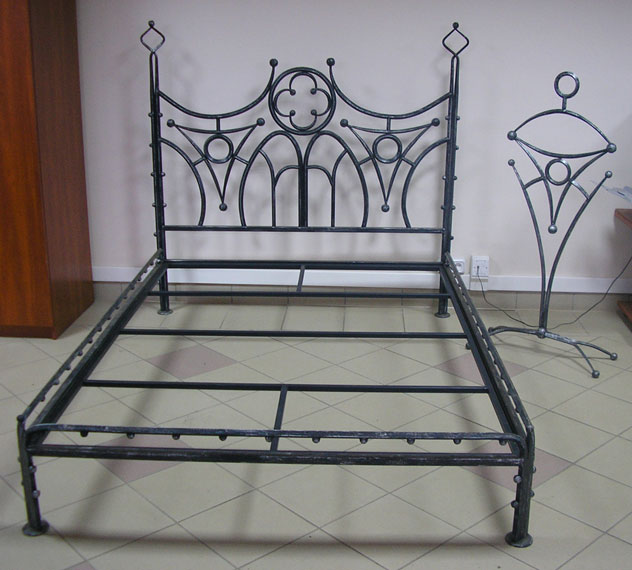 ковані ліжка фото