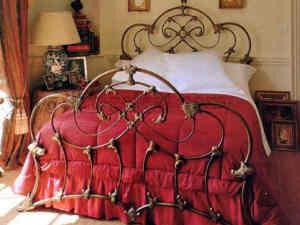 ціна та фото кованого ліжка